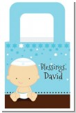 Jewish Baby Boy - Personalized Baby Shower Favor Boxes