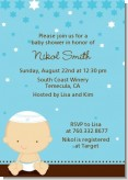Jewish Baby Boy - Baby Shower Invitations