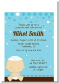 Jewish Baby Boy - Baby Shower Petite Invitations