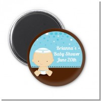 Jewish Baby Boy - Personalized Baby Shower Magnet Favors