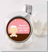 Jewish Baby Girl - Personalized Baby Shower Candy Jar