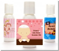 Jewish Baby Girl - Personalized Baby Shower Lotion Favors