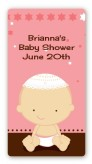 Jewish Baby Girl - Custom Rectangle Baby Shower Sticker/Labels