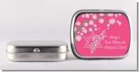 Jewish Star of David Cherry Blossom - Personalized Bar / Bat Mitzvah Mint Tins