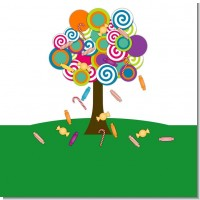 Candy Tree Birthday Party Theme