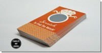 Engagement Ring Orange - Bridal Shower Scratch Off Tickets