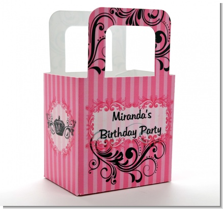 Juicy Couture Inspired - Personalized Birthday Party Favor Boxes