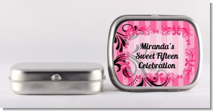 Juicy Couture Inspired - Personalized Birthday Party Mint Tins