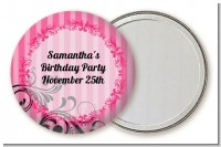Juicy Couture Inspired - Personalized Birthday Party Pocket Mirror Favors