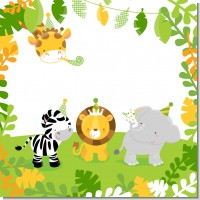 Jungle Party Baby Shower Theme