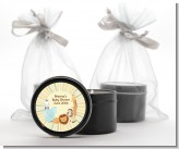 Jungle Safari Party - Birthday Party Black Candle Tin Favors