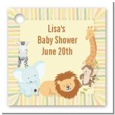 Jungle Safari Party - Personalized Baby Shower Card Stock Favor Tags