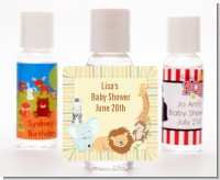 Jungle Safari Party - Personalized Baby Shower Hand Sanitizers Favors