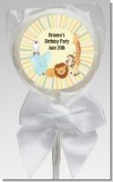 Jungle Safari Party - Personalized Baby Shower Lollipop Favors