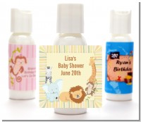 Jungle Safari Party - Personalized Baby Shower Lotion Favors