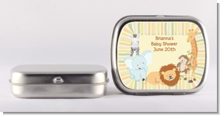 Jungle Safari Party - Personalized Baby Shower Mint Tins
