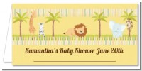 Jungle Safari Party - Personalized Baby Shower Place Cards