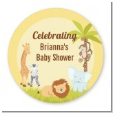 Jungle Safari Party - Personalized Baby Shower Table Confetti
