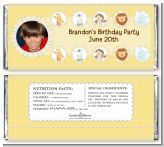 Jungle Safari Party - Personalized Birthday Party Photo Candy Bar Wrappers