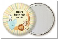 Jungle Safari Party - Personalized Birthday Party Pocket Mirror Favors
