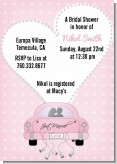 Just Married - Bridal Shower Invitations