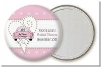 Just Married - Personalized Bridal Shower Pocket Mirror Favors
