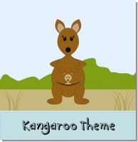 Kangaroo Baby Shower Theme
