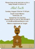 Kangaroo - Baby Shower Invitations