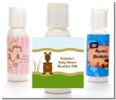Kangaroo - Personalized Baby Shower Lotion Favors