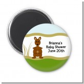 Kangaroo - Personalized Baby Shower Magnet Favors