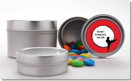 Karate Kid - Custom Birthday Party Favor Tins