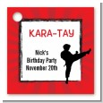 Karate Kid - Personalized Birthday Party Card Stock Favor Tags thumbnail