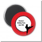 Karate Kid - Personalized Birthday Party Magnet Favors