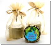 King of the Jungle Safari - Baby Shower Gold Tin Candle Favors