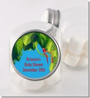 King of the Jungle Safari - Personalized Baby Shower Candy Jar