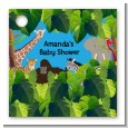 King of the Jungle Safari - Personalized Baby Shower Card Stock Favor Tags thumbnail