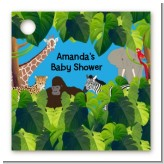 King of the Jungle Safari - Personalized Baby Shower Card Stock Favor Tags