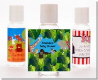King of the Jungle Safari - Personalized Baby Shower Hand Sanitizers Favors
