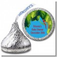 King of the Jungle Safari - Hershey Kiss Baby Shower Sticker Labels thumbnail