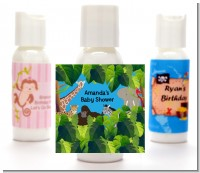 King of the Jungle Safari - Personalized Baby Shower Lotion Favors
