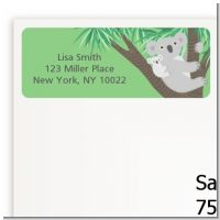 Koala Bear - Baby Shower Return Address Labels