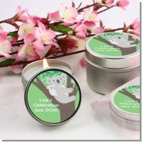Koala Bear - Birthday Party Candle Favors