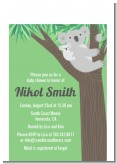 Koala Bear - Baby Shower Petite Invitations