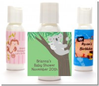 Koala Bear - Personalized Baby Shower Lotion Favors