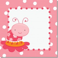 Ladybug Pink Birthday Party Theme