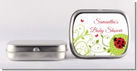 Ladybug - Personalized Baby Shower Mint Tins