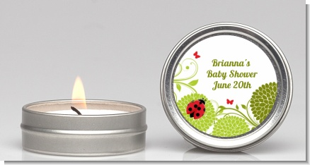 Ladybug - Baby Shower Candle Favors