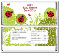 Ladybug - Personalized Baby Shower Candy Bar Wrappers