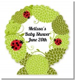 Ladybug - Personalized Baby Shower Centerpiece Stand