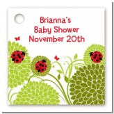 Ladybug - Personalized Baby Shower Card Stock Favor Tags